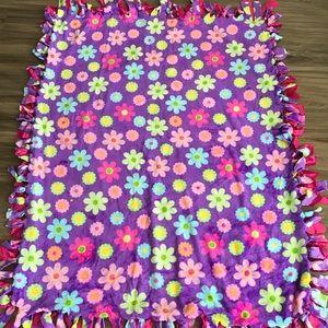 Handmade Floral Blanket